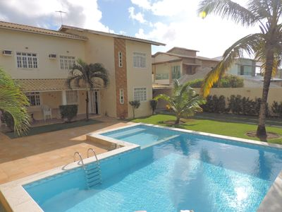 Photo for Beautiful house! Pool, beach, garden in gated community!