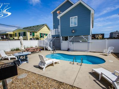 Photo for Hooligan's Hideaway | 663 ft from the beach | Dog Friendly, Private Pool