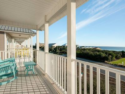 Photo for Seacrest Beach ~ Gorgeous Views  from balconies ~ Short walk to Beach ~ Pool