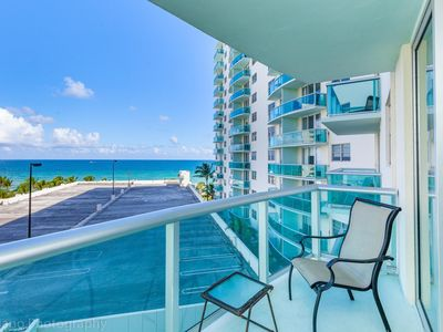 Photo for Tides 6th floor  Hollywood Beach ocean view  by AmmosFL
