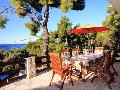 Photo for Two bedroom apartment near beach Brna (Korčula)