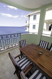 Photo for Montesan J1 4bedroom apartment with terrace and sea view