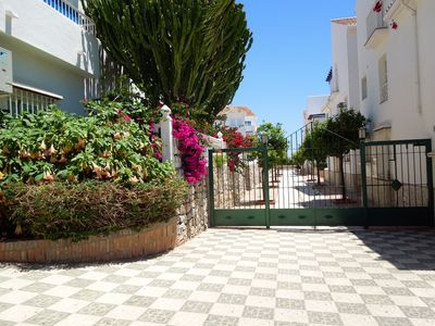 Photo for Luxury Apartment in Fuentes de Nerja, overlooking the pool,     Free WiFi & TV
