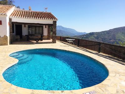 Photo for Finca Hornillo with private pool for 6 people with fantastic views
