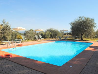 Photo for HOME WITH PRIVATE GARDEN AND COMMON POOL ON THE GREEN HILLS OF SAN GIMIGNANO