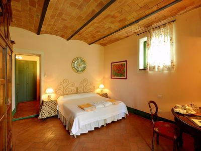 Photo for Podere Salicotto: Nanda - Double room on the ground floor