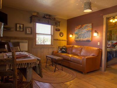 Photo for Cozy 1 BR with a Pullout Sofa bed and Kitchenette