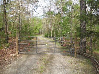 Escape from it all. In a wooded peaceful area at the end of the road on 10 acres