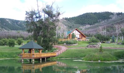 Photo for Private Log Vacation Home - Located minutes from Glenwood Springs, Aspen & Vail