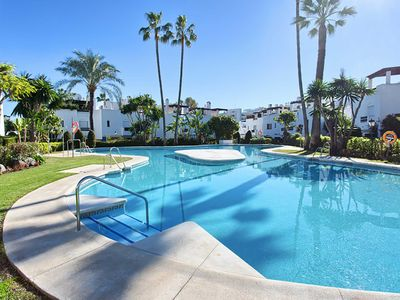 Photo for 43 -  Frontline beach Townhouse in Urb. Guadalvill