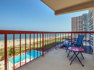 Photo for Stay Oceanfront in North Ocean City - Free Wi-Fi, Pool & Sun Deck!