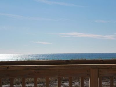 Photo for Directly Across Private Beach-Large Deck–Ocean Views-Kayaks & Paddleboards - 30A
