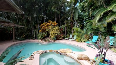 Photo for 2 bedroom Traditional Beach Cottage with Pool and Spa