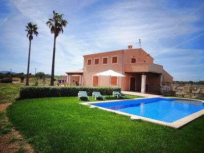 Photo for very quiet country house with pool / garden at Pto. Cristo only 3 Km to the beach