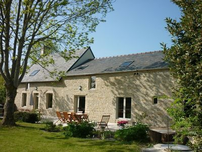 Photo for LOULOU & COMPAGNIE: Gite 300m2, sleeps 14 at the gates of Bayeux.
