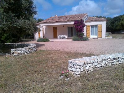 Photo for Detached villa in a private and fenced 5000 m²