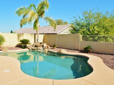 Photo for Desert Oasis- Beautiful Goodyear home w/ Pool-Very close to spring training!
