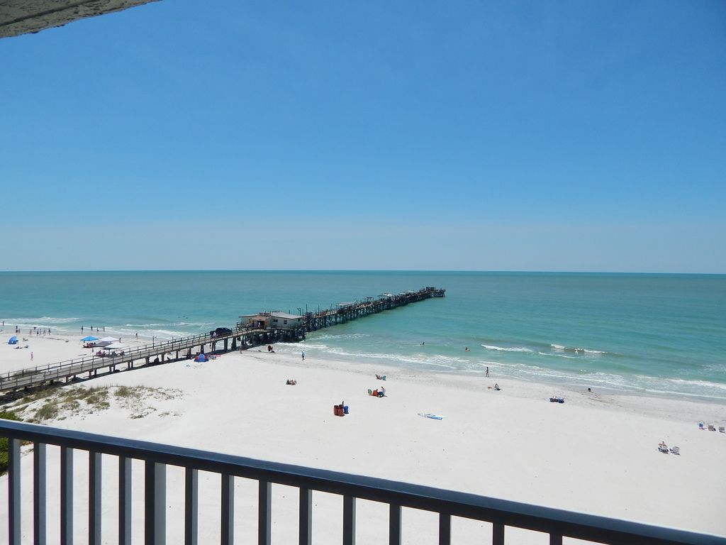 Pristine top floor oceanfront condo redington shores - Florida condo swimming pool rules ...