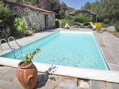 Photo for Old oil press, private heated pool, wifi, character