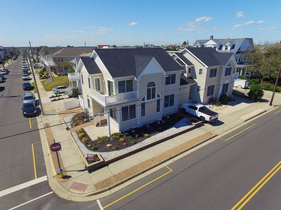 Photo for Gorgeous 4 bedroom Town Home just steps the the Beach