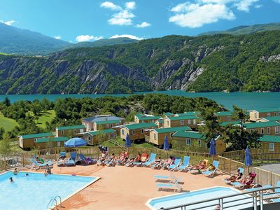 Photo for Chalet on the largest water reservoir in the Hautes-Alpes