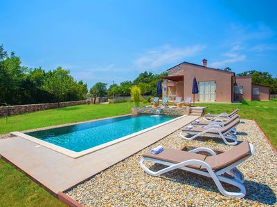 Photo for Villa Marten with Fenced Garden and Private Infinity Pool
