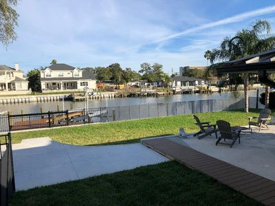 Photo for Waterfront 3 bedroom, 2 bath - Sleeps 6 - Bikes, Paddle boards, fishing poles