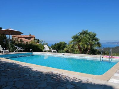 Photo for PORTICCIO - Very nice villa with pool V-134