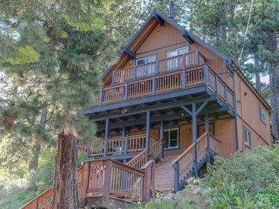 Photo for Views of the lake and minutes to ski resorts in this private and spacious home