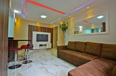 Photo for Modern and silent 3 bedrooms apartment in Ipanema!