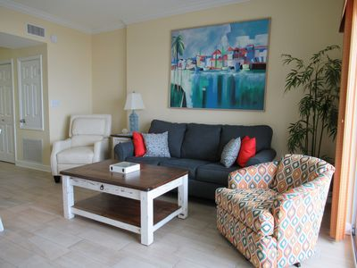 Photo for Tidewater 405-Great Views!Remodeled!Great Reviews! Direct Beach Front! BOOK NOW!