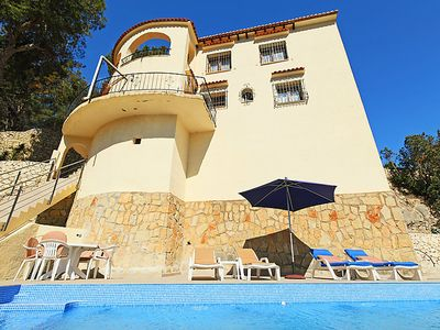 Photo for Vacation home Casa Negrita in Moraira - 10 persons, 4 bedrooms