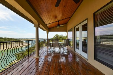 Balcony - Can't beat the view of Lake Travis from your private balcony. This is the best place to kick back and unwind.