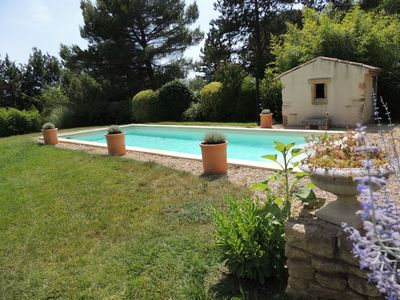 Photo for HOUSE WITH POOL IN THE HEART OF LUBERON FOR 8 PEOPLE