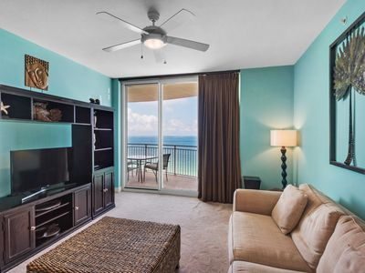 Photo for 1708 - 1B/2 Bath With Bonus Room. Master Bedroom & Living Room Face the Gulf!