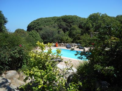 Photo for VILLA WITH PRIVATE SWIMMING POOL IN CORSICA CORSICA ON MORE THAN ONE HECTARE OF GROUND
