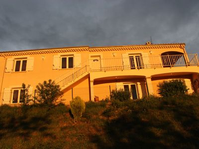 Photo for Villa ELODIE, swimming pool, SPA, Fitness, sauna, cinema, petanque, unobstructed view, babyfoot