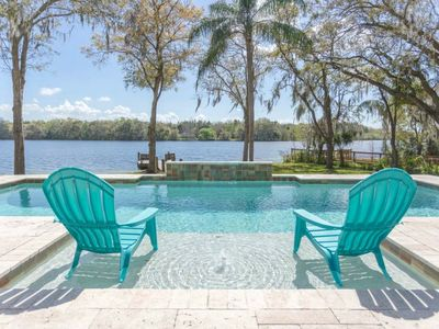 Photo for ☀SOLAR HEATED POOL☀ Riverfront☀ PARADISE FOUND! Tampa. 5 mins to Busch Gardens☀
