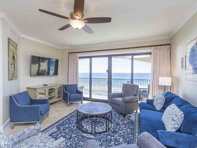 Photo for Updated Beachfront Condo! Over 300 Feet of Private Resort Beach. Complimentary Beach Service Included!