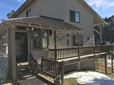 Photo for Two story home on 3 acres with blanco river frontage. Sleeps up to 12.