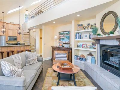 Photo for Bright and Airy Condo in Mountain Village With Private Deck, Full Kitchen