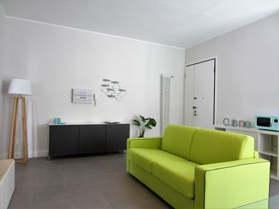 Photo for ★ NEW & MODERN APARTMENT ON THE SEA ★ 5 person, free high speed wifi fiber
