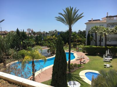 Photo for Luxurious and Spacious Apartment near Beach and Puerto Banus