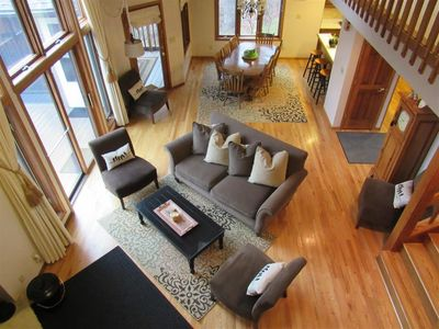 Photo for 5BR/5.5BA on 3 Levels, Screen Porch, Hot Tub, Fire Pit, Pool Table, Sleeps 12!!