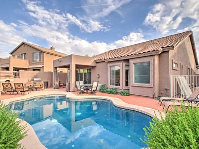Photo for House in Mesa w/Private Pool Oasis and Desert View