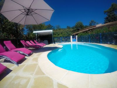 Photo for Villa with swimming pool / Garéoult (83 Var)