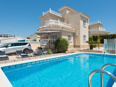 Photo for 3BR Villa Vacation Rental in San Fulgencio, Alicante, Comunidad Valenciana