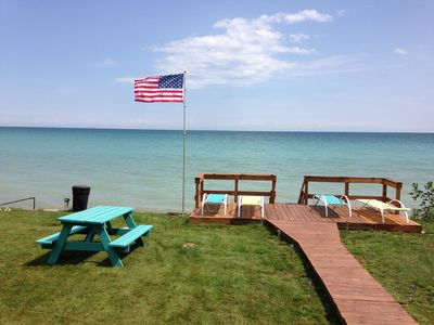 Photo for Waterfront 3 story Home On Shores Of Lake MI, minutes to Door Cty and GreenBay