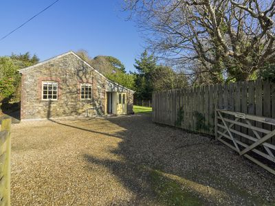 Photo for Characterful cottage in a rural coastal location on the Historic Caerhays Estate on the South Cornis