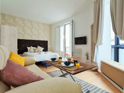 Photo for Comfy loft with communal terrace